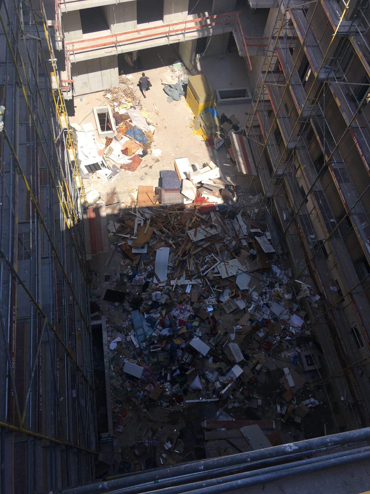 Entkernung Gebäude